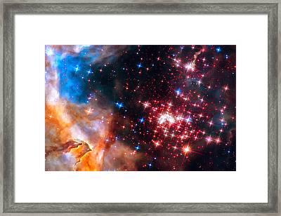 Star Cluster Westerlund 2 Space Image Framed Print