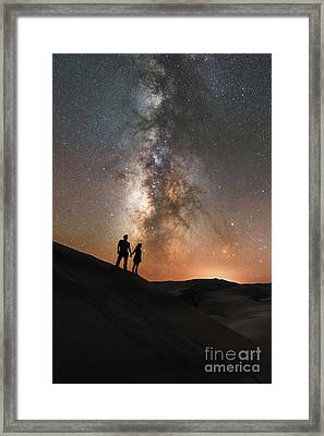 Star Crossed Lovers  Framed Print by Michael Ver Sprill