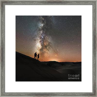 Star Crossed  Framed Print by Michael Ver Sprill