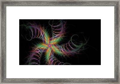 Star Crossed Framed Print by Rhonda Barrett