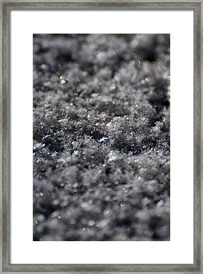 Star Crystal Framed Print by Jason Coward