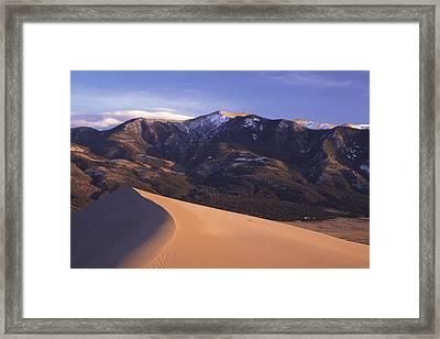 Star Dune Framed Print by Eric Foltz