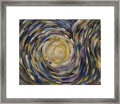 Star Explosion Framed Print by Danielle White