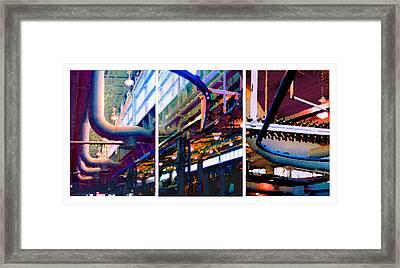 Star Factory Framed Print by Steve Karol