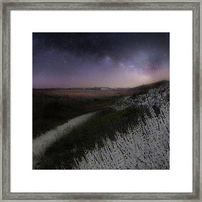 Framed Print featuring the photograph Star Flowers Square by Bill Wakeley
