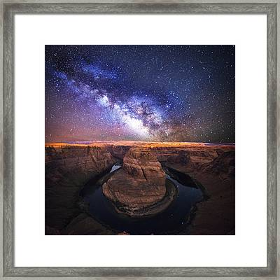 Star Gazer Framed Print