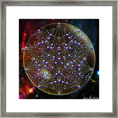 Star Framed Print by Iowan Stone-Flowers