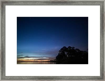 Star Light Framed Print by Carol Youorski