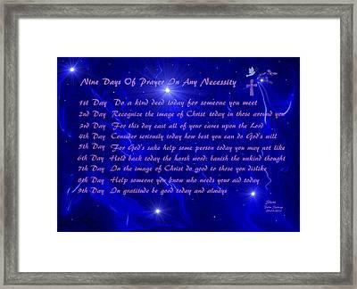 Star Light Star Bright Framed Print by Sherri's - Of Palm Springs