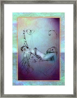 Star Mermaid Framed Print by Ragen Mendenhall