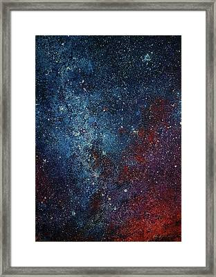 Star No.19 Framed Print by Youcai Hong