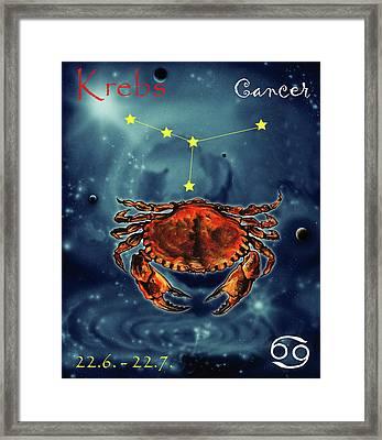 Star Of Cancer Framed Print