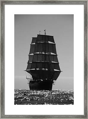 Star Of India Backlit Framed Print
