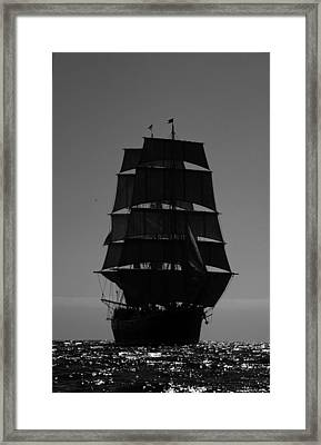 Star Of India  Framed Print