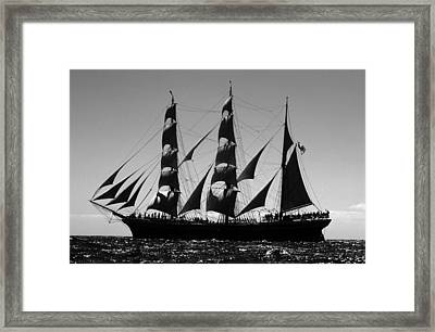 Star Of India Port Side Framed Print