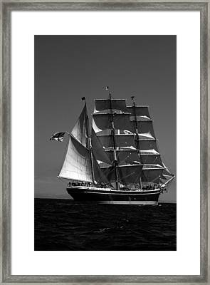 Star Of India Reaching Framed Print