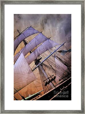 Star Of India San Diego 2 Framed Print
