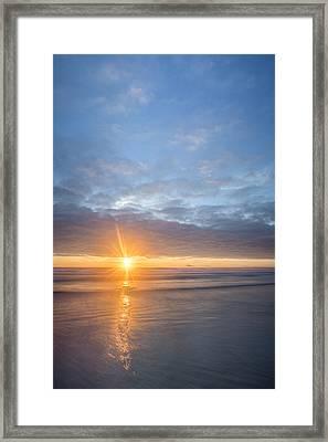 Star Of Manzanita Framed Print by Jon Glaser