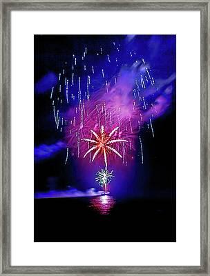 Star Of The Night Framed Print