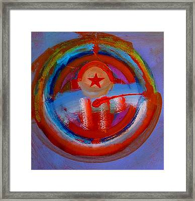 Framed Print featuring the painting Star Of The Sea by Charles Stuart