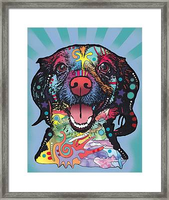 Star Of The Show Framed Print by Dean Russo