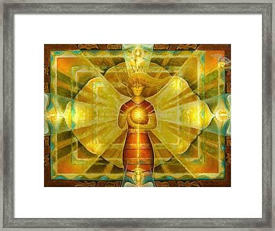 Star Of Venus Framed Print