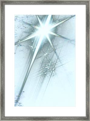 Star Of Wonder Framed Print by Ellen Henneke