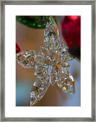 Star Ornament Framed Print