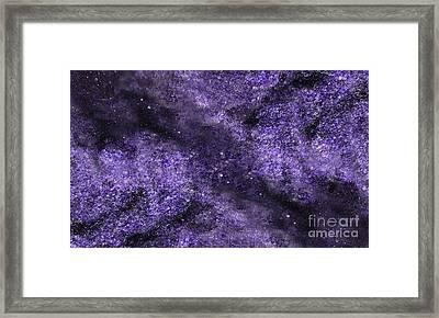 Star Path Framed Print by Rebecca Lemke