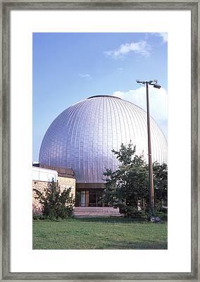 Star Planetarium Berlin Framed Print