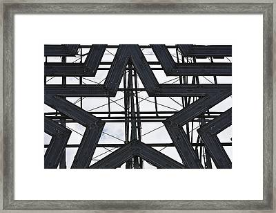 Star Power Roanoke Virginia Framed Print