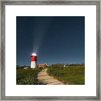 Star Search Square Framed Print by Bill Wakeley