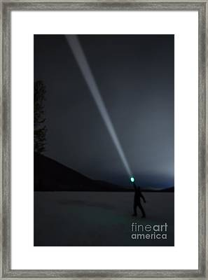 Star Searcher Framed Print