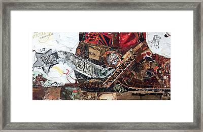 Star Spurs Framed Print