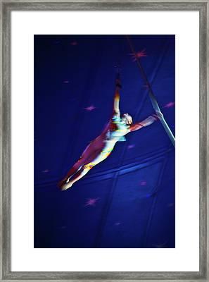 Star Swinger Framed Print