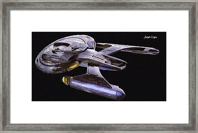 Star Trek Luna Framed Print
