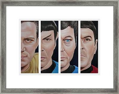 Star Trek Set One Framed Print