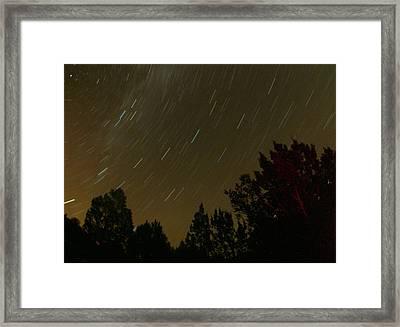 Star Tripping Framed Print by David S Reynolds