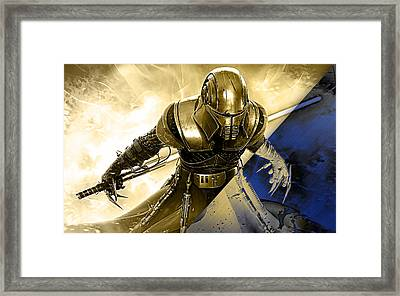 Star Wars Collection Framed Print by Marvin Blaine