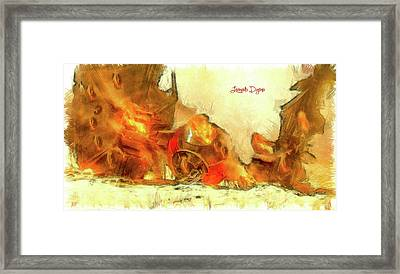 Star Wars Crash Framed Print