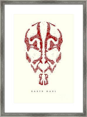 Star Wars - Darth Maul Framed Print