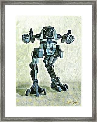 Star Wars Destructor - Pa Framed Print