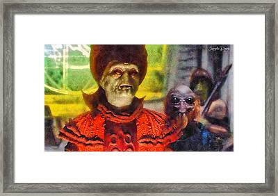 Star Wars Durosians Leader - Pa Framed Print by Leonardo Digenio