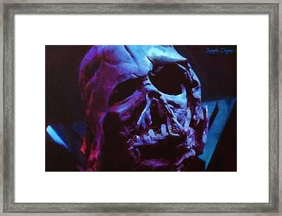 Star Wars Ex-darth Vader - Da Framed Print by Leonardo Digenio