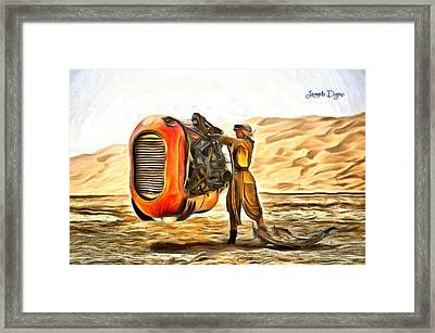 Star Wars Rey's Stuff To Sell Framed Print