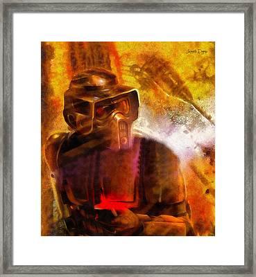 Star Wars Sabotage - Pa Framed Print
