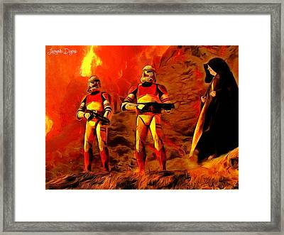Star Wars - Searching For Him Framed Print