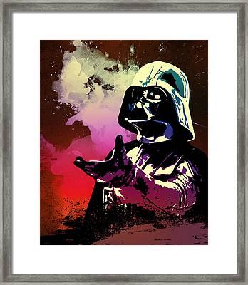 Star Wars.darth Vader. Framed Print