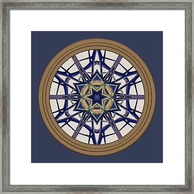 Star Window I Framed Print