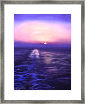 Starboard View Framed Print